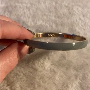 J.Crew Grey and Gold Enamel Bangle